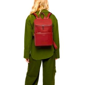 Matt & Nat Gala Red Brave Backpack 12L EUC